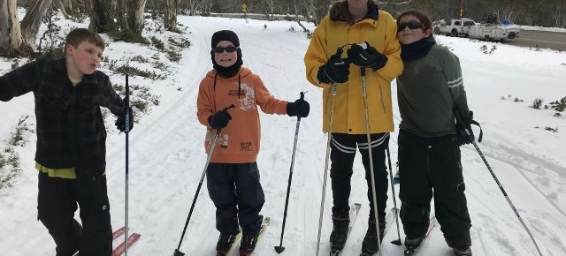 Clifton Creek Kids Hit the Slopes