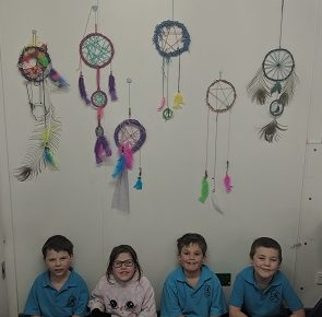 Grade 1 Dreamcatchers
